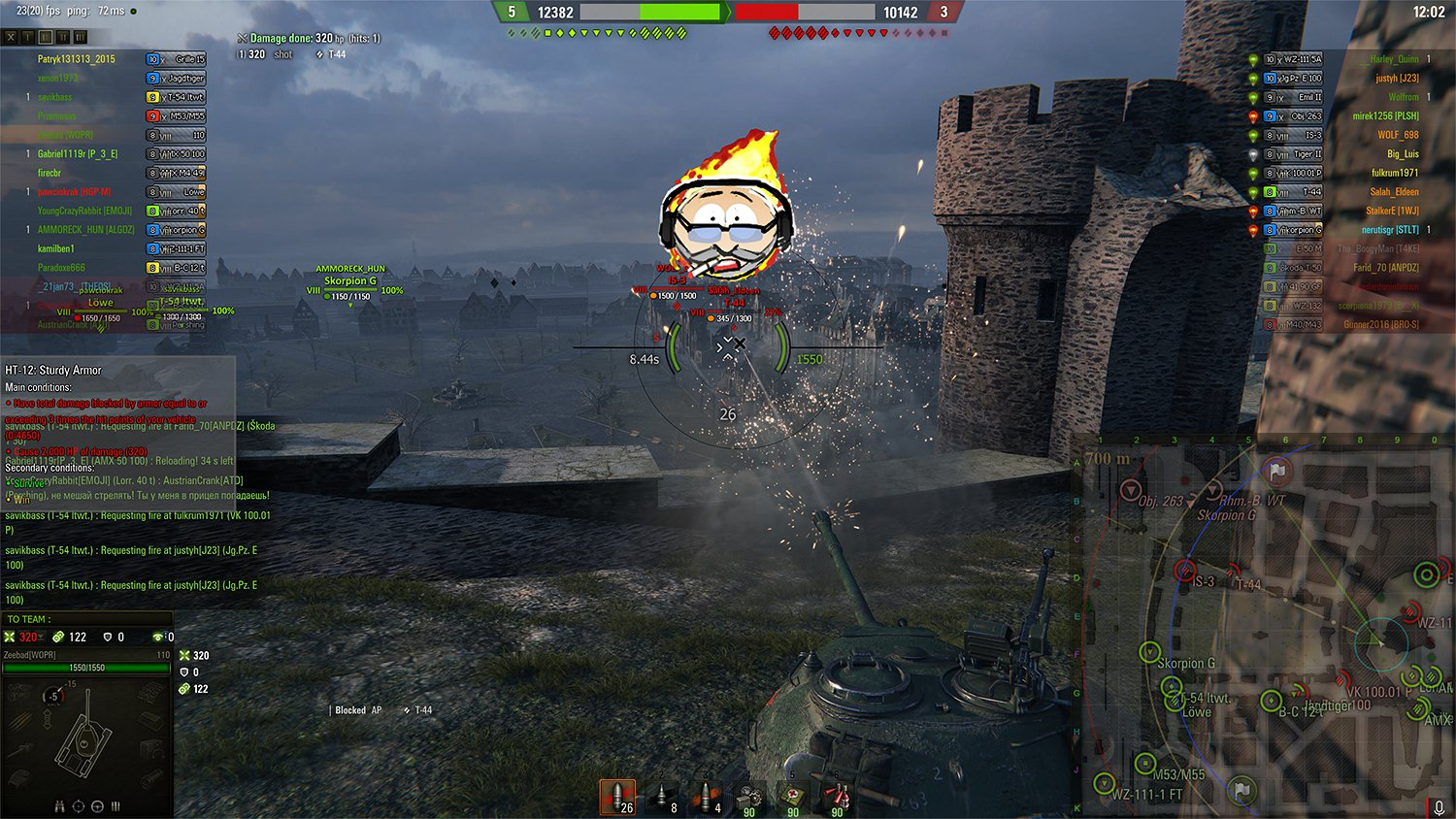 world of tanks sith sence mod