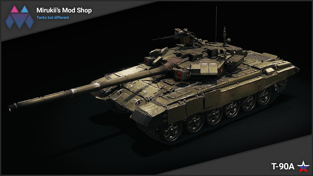 Mirukii s T-90A Remodel (Obj. 140 Replacement) — download mods for ... 63fad3f787c