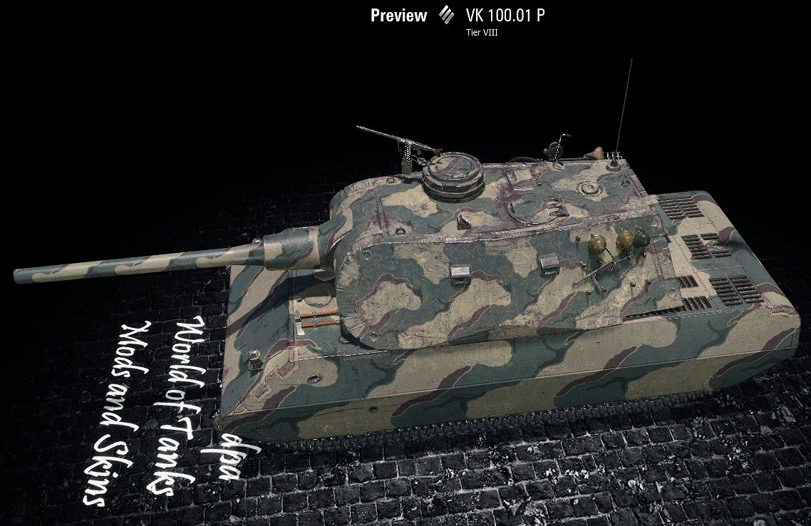Vk10001p remodel download mods for world of tanks wot screenshots malvernweather Images