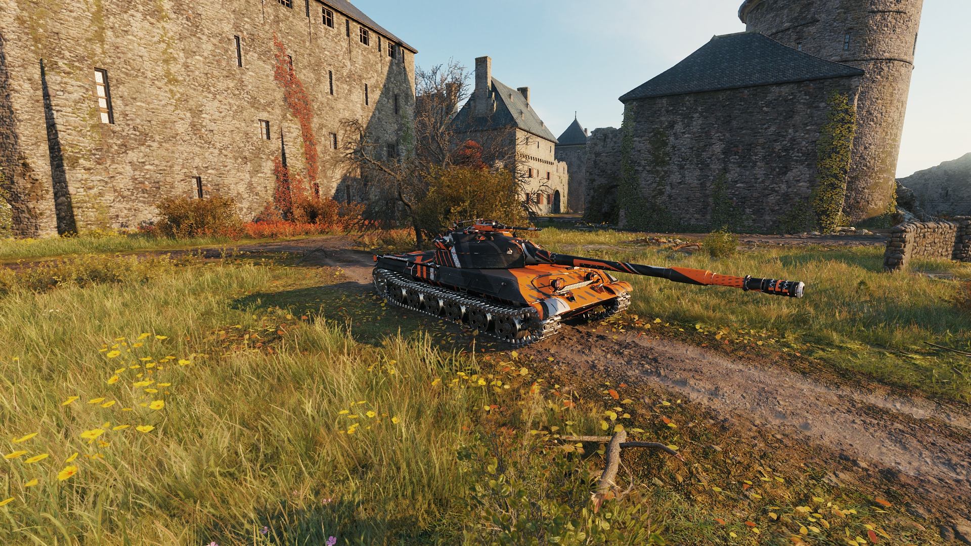 orange stripes for obj. 430 u — download mods for world of tanks (wot)