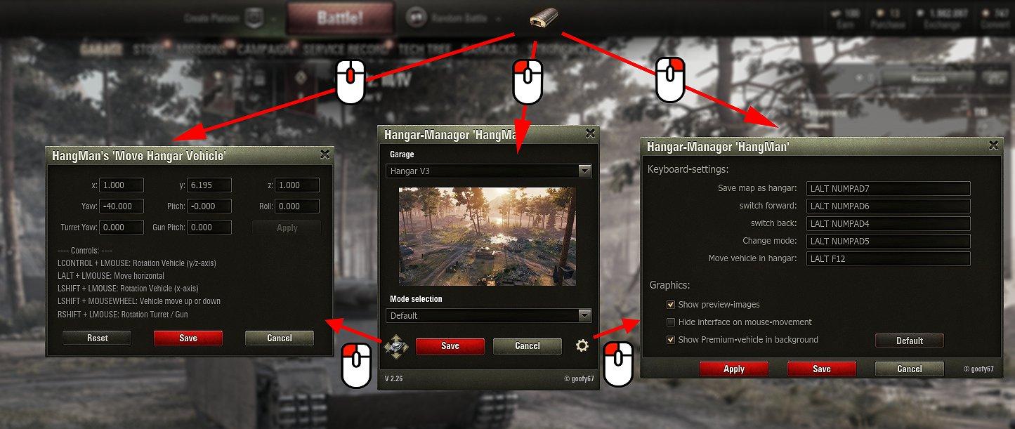 Hangar manager hangman download mods for world of tanks wot screenshots solutioingenieria Image collections
